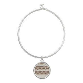 Bracelet beige de bracelet de mosaïque avec le