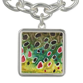 Bracelet Bijoux de truite de Brown