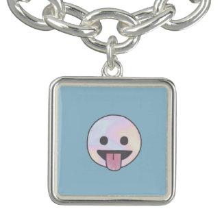 Bracelet carré de charme de Tumblr de sourire