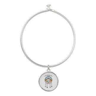 Bracelet de bracelet avec le charme tribal de
