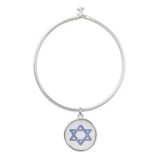 Bracelet de bracelet de charme d'étoile de David