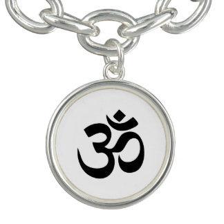Bracelet de charme de symbole de l'OM