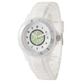 Bracelet de silicium de montre de tennis du