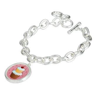 Bracelet doux de rose de temps
