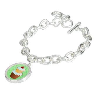 Bracelet doux de vert de temps