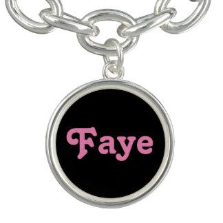 Bracelet Faye de charme