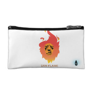 Bracelet flamboyant de lion trousse make-up
