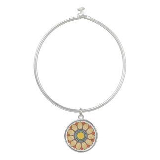 Bracelet Rigide Conception moderne florale de motif