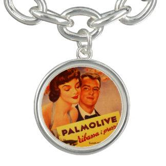 Bracelet Vintage avec RetroCharm Annonce Palmolive