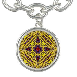 Bracelet vintage royal de charme de motif de
