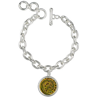Bracelets Abrégé sur moderne jaune