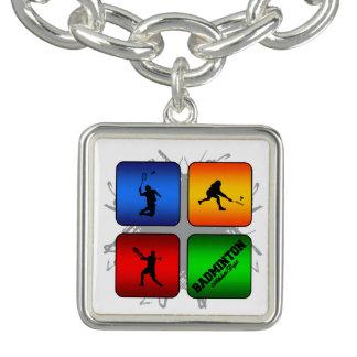 Bracelets Avec Breloques Style urbain de badminton extraordinaire