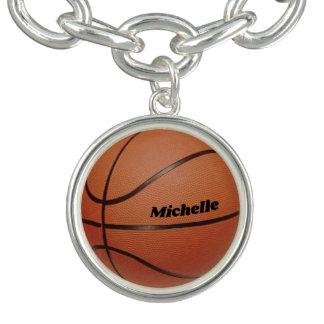 Bracelets Charme de basket-ball