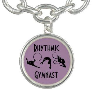Bracelets de charme de gymnastique rythmique
