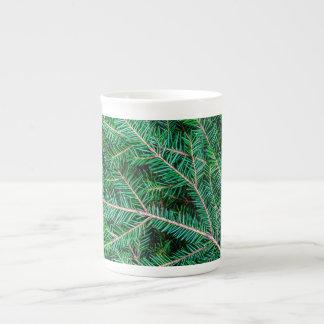 Branche d'arbre de sapin mug