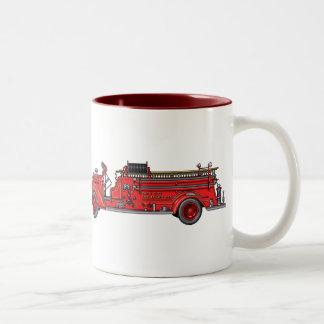 Brand Truck_01 & 02 Tweekleurige Koffiemok