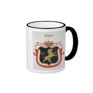 Bras de la famille royale belge, d'un collectio tasse à café