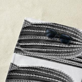 Bras de Saguaro en serviette de plage faite sur