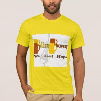 Brasserie de Baller - nous avons obtenu des T-shirt