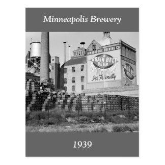 Brasserie de Minneapolis, les années 1930 Carte Postale