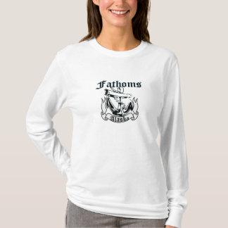 Brasses de pièce en t de signature t-shirt