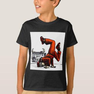 Breakdancer en Doos Hip Hop T Shirt