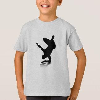 Breakdancer (op elleboog) t shirt
