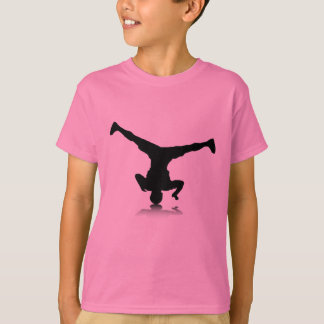 Breakdancer (rotatie) t shirt