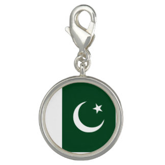 Breloque Avec Photo Drapeau du Pakistan