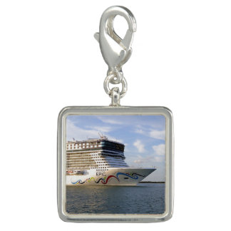 Breloques Avec Photo Arc décoré de bateau de croisière