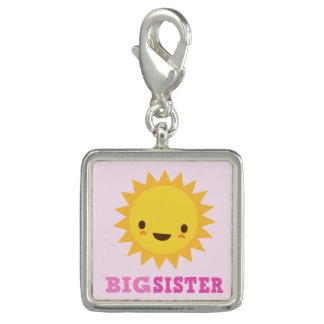 Breloques Le soleil mignon de kawaii sur la grande soeur