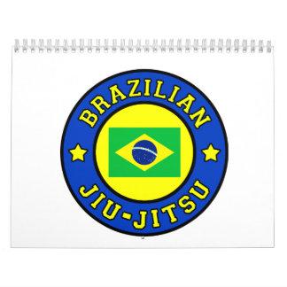 Brésilien Jiu Jitsu Calendrier Mural