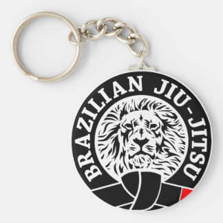 Brésilien Jiu-Jitsu (porte - clé) Porte-clé Rond