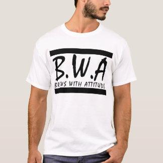 Brews avec le T-shirt d'attitude