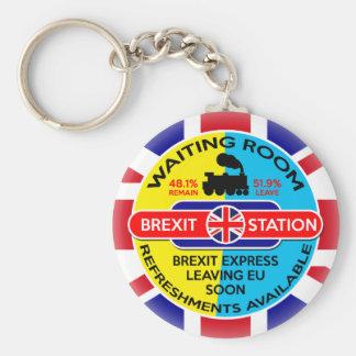 Brexit Porte-clé Rond