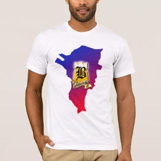 Brgy. T-shirt avec la carte - Mla.