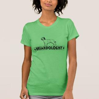 Briard humoristique t-shirt