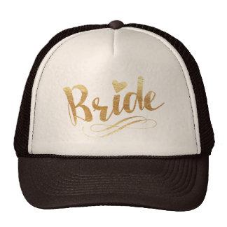 Bride|Golden Casquette Trucker
