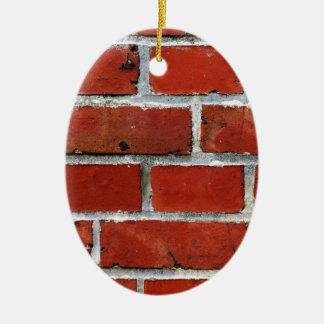 Briques Ornement Ovale En Céramique