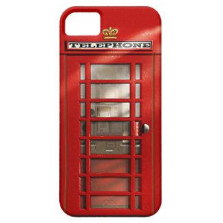 Britse Stad van iPhoneSE van de Telefooncel van Barely There iPhone 5 Hoesje