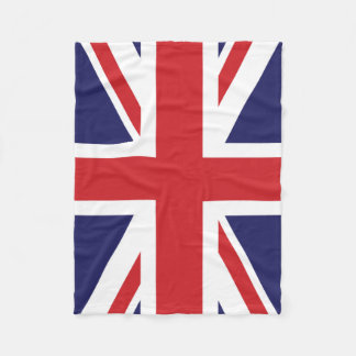 Britse vlag Union Jack Fleece Deken