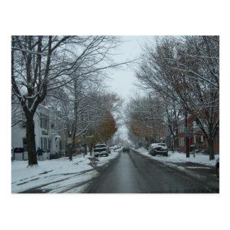 """Broadway, Hnover, carte postale de photo de PA"""