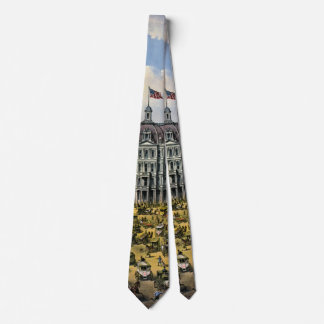 Broadway New York City 1875 Cravate