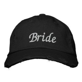 Brodez le casquette du chapeau   de jeune mariée d chapeaux brodés