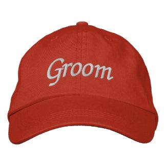 Brodez le casquette du chapeau   de marié de cadea casquette de baseball