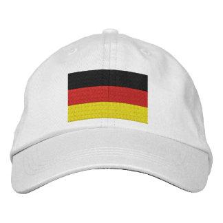 Brodez le drapeau de l'Allemagne d'Allemand Casquette Brodée