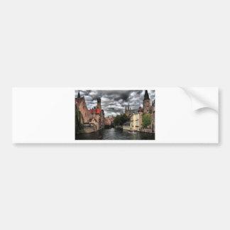 Bruges, Belgique Adhésifs Pour Voiture