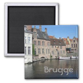 Bruges Magnet Carré