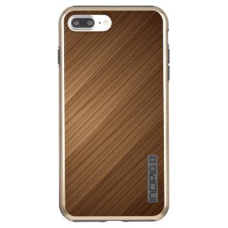 Bruine iPhone 7 plus DualPro glanst, Goud Incipio DualPro Shine iPhone 8 Plus / 7 Plus Hoes