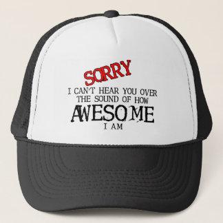 Bruit d'humour drôle impressionnant de casquette
